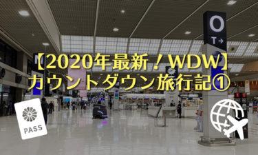 【2020年】ディズニーワールド(WDW)カウントダウン旅行記①|空港付近ホテルで前泊〜出国・乗り継ぎ