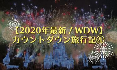 【2020年】ディズニーワールド(WDW)カウントダウン旅行記④|プレカウントダウンはマジックキングダムで!?大晦日前夜も大はしゃぎ!